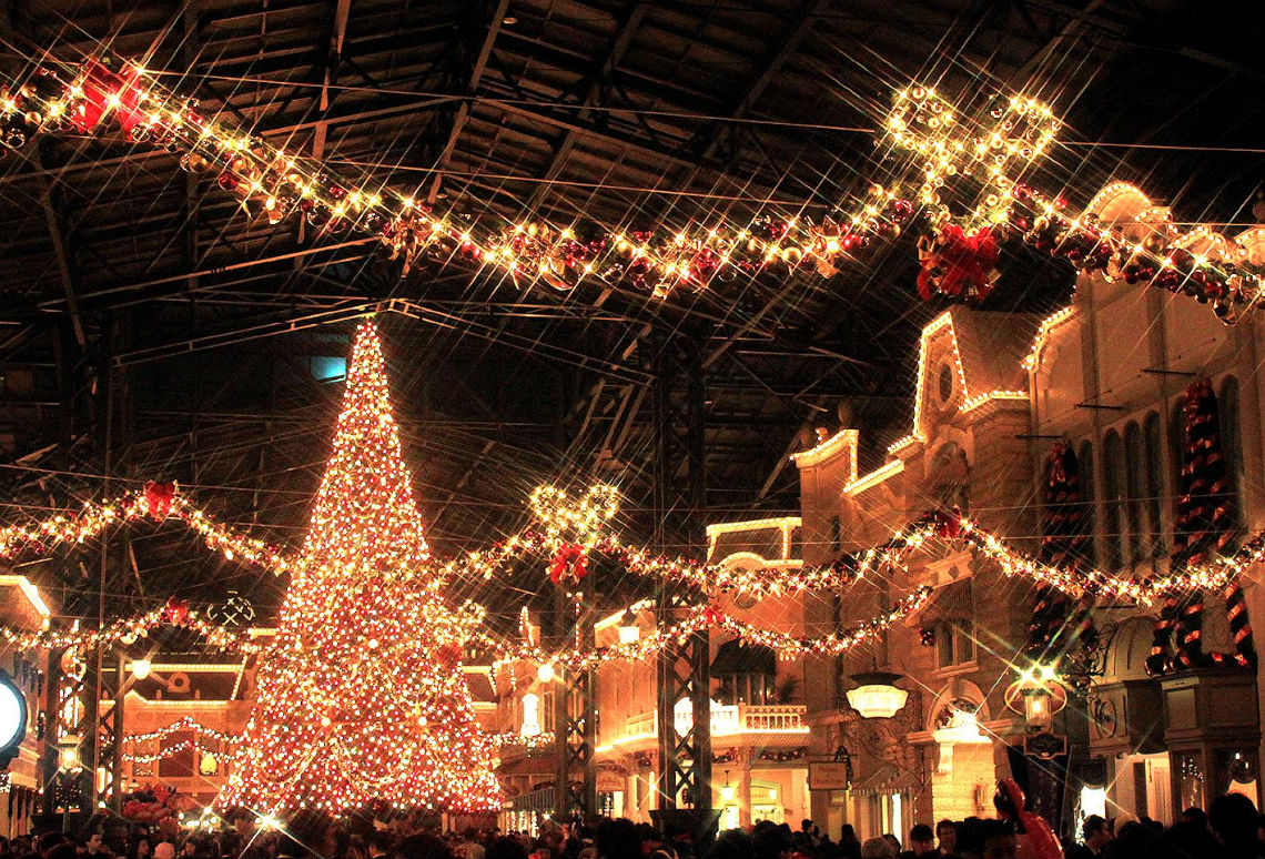 クリスマスにディズニーがおすすめな理由